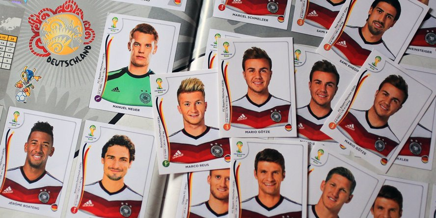 Der Panini-WM-Kader