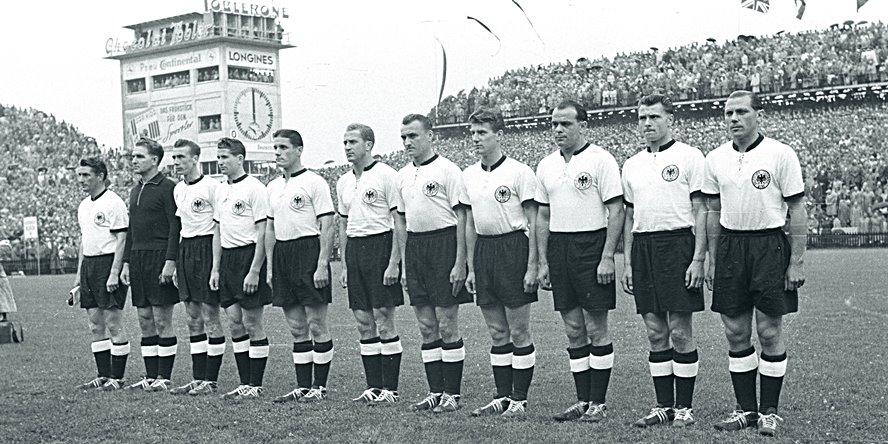Die WM-Trikots der deutschen Mannschaft