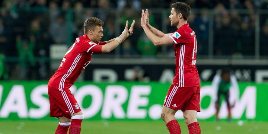 Die zehn besten Bayern der Saison 16/17