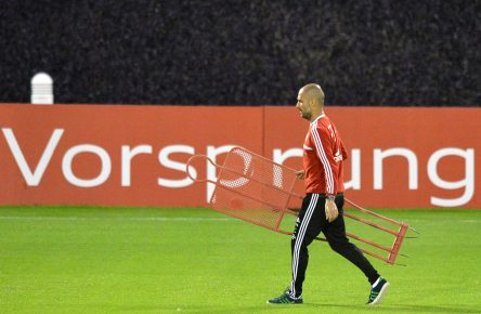 FC Bayern Munich training camp in Doha