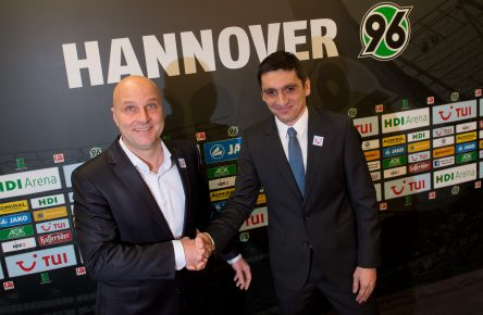New Hannover 96 head coach Tayfun Korkut