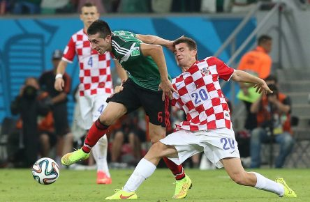 World Cup 2014 - Group A - Croatia vs Mexico