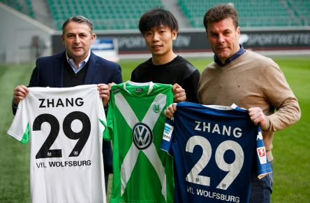 (SP)GERMANY-WOLFSBURG-ZHANG XIZHE