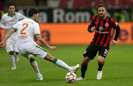 Back to winning ways: Marc Stendera von Eintracht Frankfurt