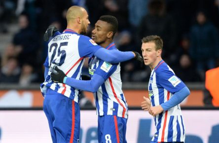 Hertha BSC: John Anthony Brooks, Salomon Kalou, Vladimir Darida