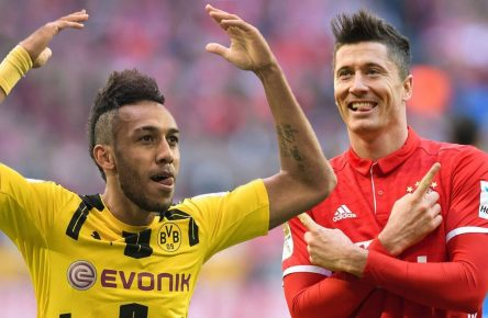 Big Guns bei Comunio: Pierre-Emerick Aubameyang und Robert Lewandowski