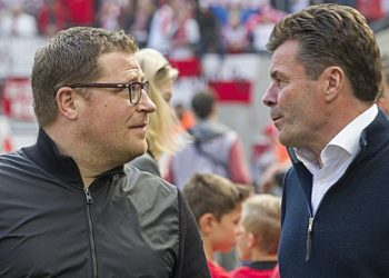 Max Eberl. Dieter Hecking