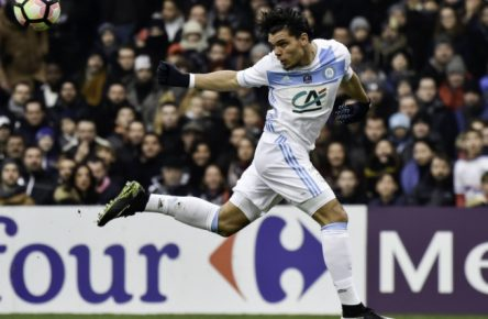 Karim Rekik (om) FOOTBALL : Toulouse vs Marseille - 32eme de Finale Coupe de France - Toulouse - 08/01/2017 ThierryBreton/Panoramic PUBLICATIONxNOTxINxFRAxITAxBEL  Karim Rekik OM Football Toulouse vs Marseille 32eme de Final Coupe de France Toulouse 08 01 2017 ThierryBreton Panoramic PUBLICATIONxNOTxINxFRAxITAxBEL
