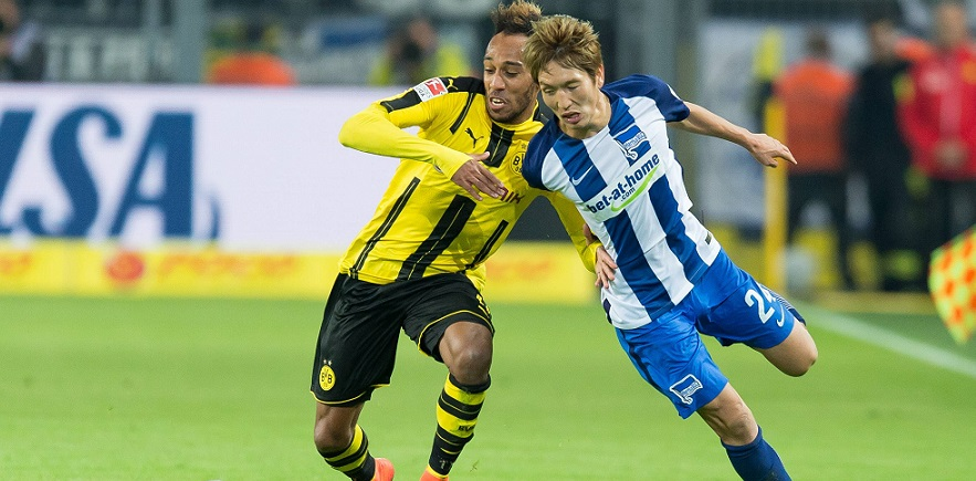 Should I stay or should I go: Aubameyang und Haraguchi von BVB und Hertha