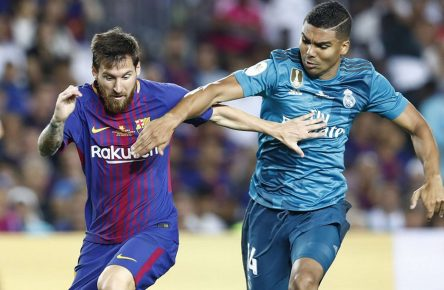 FC Barcelona vs Real Madrid: Messi gegen Casemiro
