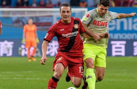 Zuletzt erfolgreich: Leverkusen Baumgartlinger und Kölns Jojic