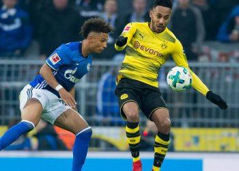 Aktuell wenig gefragt: Kehrer und Aubameyang von den Revierrivalen Schalke und BVB