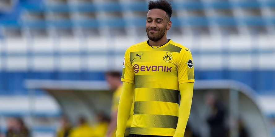 Zuletzt mit Verlusten: Aubameyang von Borussia Dortmund