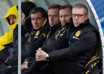 Peter Stöger blickt auf eine eher suboptimale Rückrundenvorbereitung beim BVB.