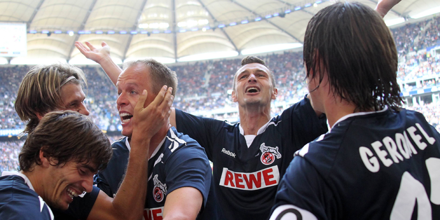 Der 1. FC Köln siegte damals gegen den HSV dank des Treffers von Kevin McKenna.