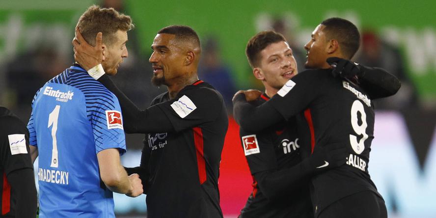 Hradecky, Boateng, Jovic und Haller sind momentan wichtige Spieler bei Eintracht Frankfurt.