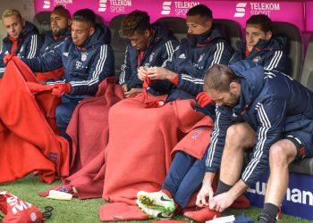 Die Bank des FC Bayern ist stark besetzt.
