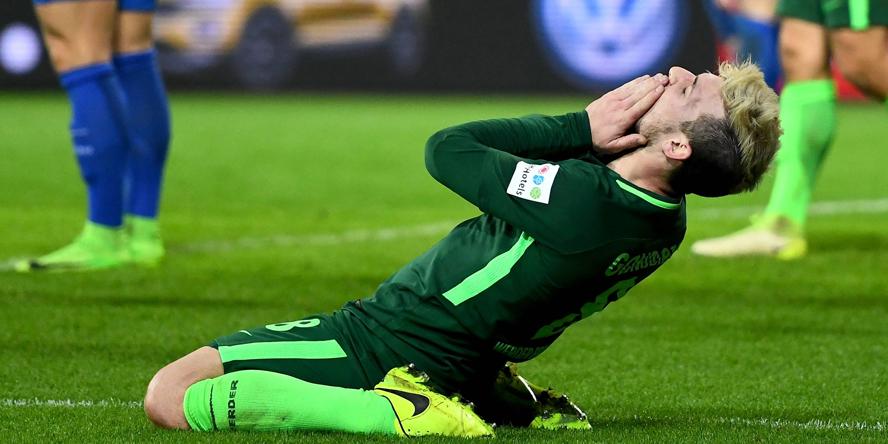 Jerome Gondorf spielt beim SV Werder Bremen derzeit groß auf.