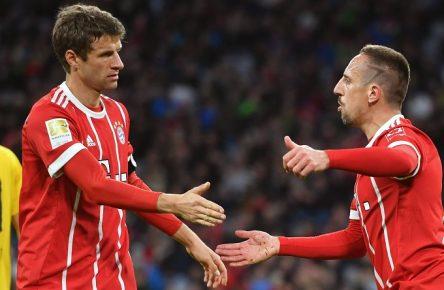 Ribery, Müller, FC Bayern München, Großaspach, Testspiel