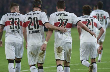 Der VfB Stuttgart gewann auch dank Gomez gegen die Hertha.