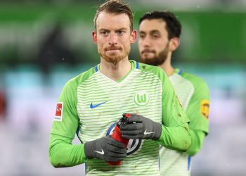 Maximilian Arbold kommt wie der VfL Wolfsburg nicht konstant in die Spur
