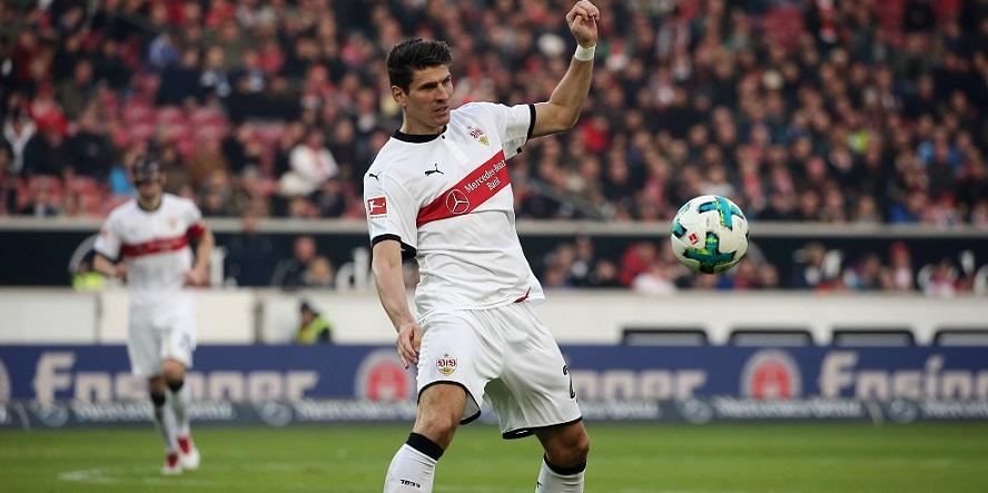 Bisher nicht erfolgreich: Stuttgarts Neuzugang Mario Gomez