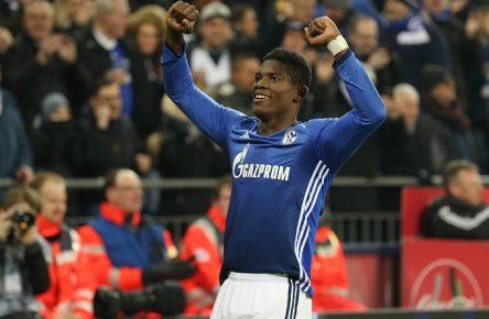 Im Aufwind: Breel Embolo von Schalke 04