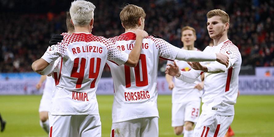 RB Leipzig trifft auf den FC Augsburg: Mit Kampl, Werner - und Forsberg?