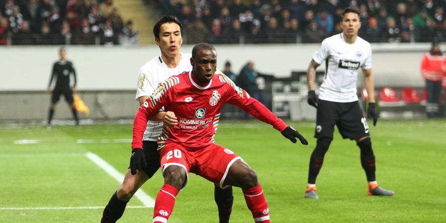 Müsste so langsam mal ankommen: Anthony Ujah (1.FSV Mainz 05)