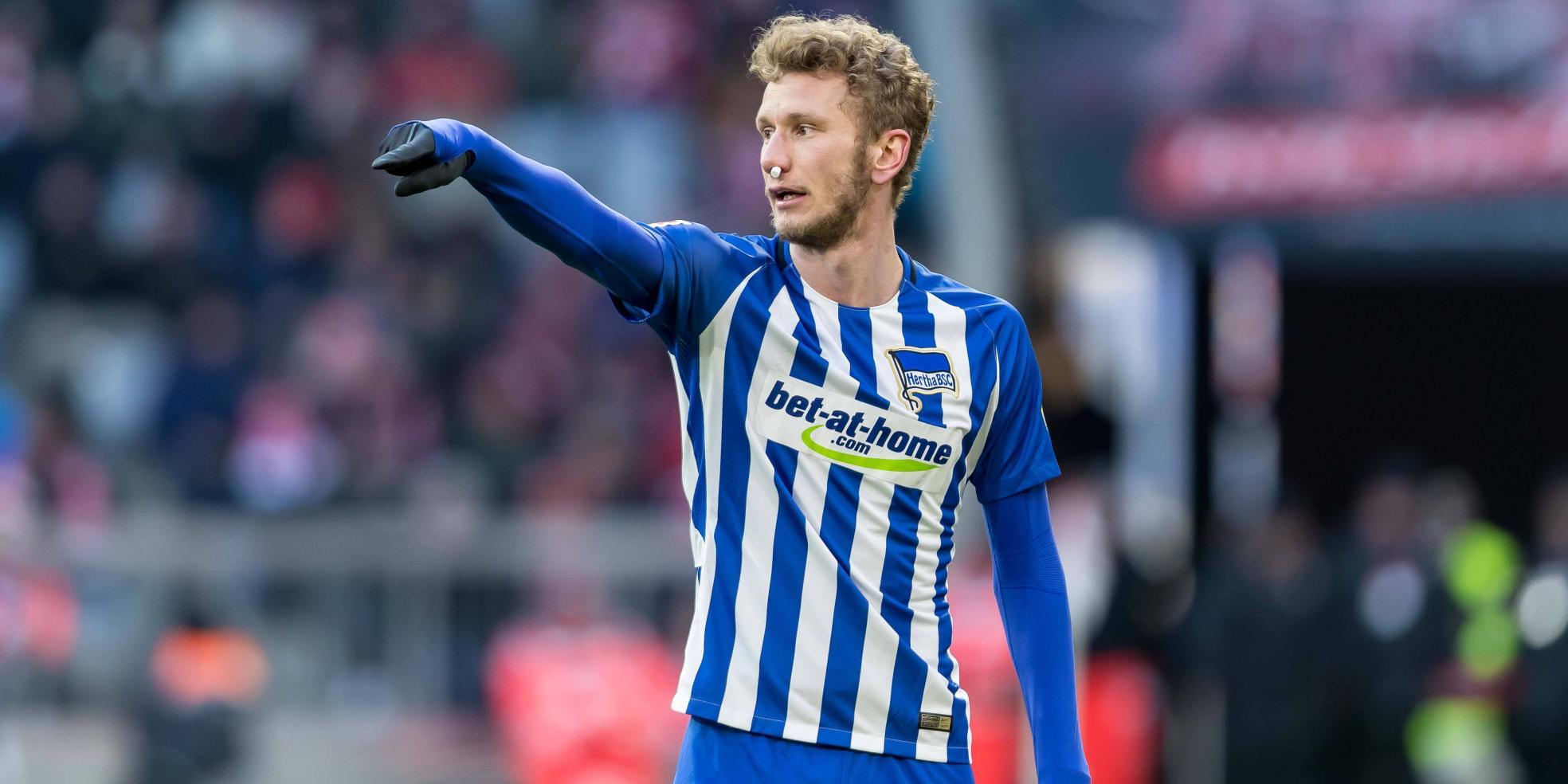 Fabian Lustenberger von Hertha BSC