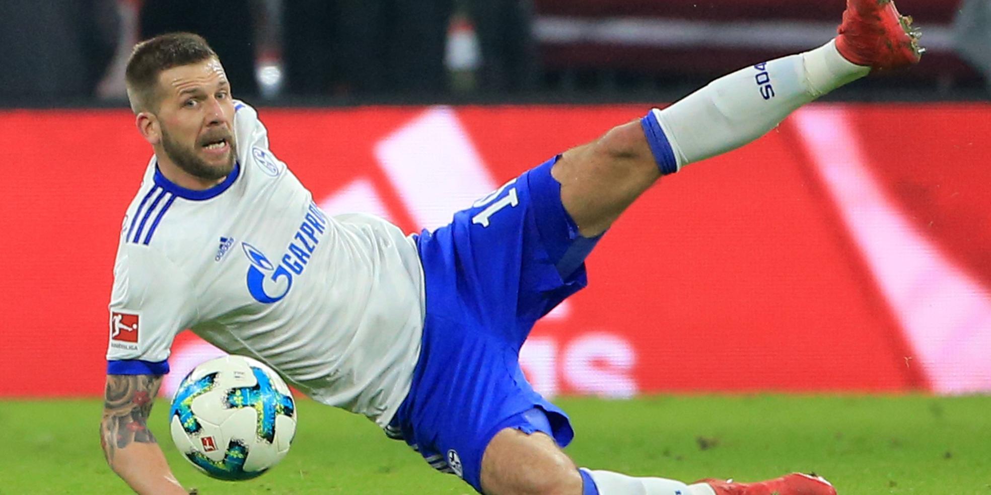 Guido Burgstaller vom FC Schalke 04