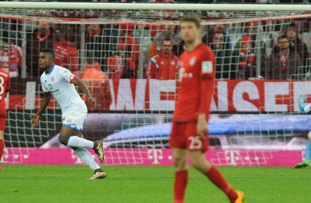 Jhon Cordoba traf in der Allianz Arena in der 86. Minute zum Siegtreffer.