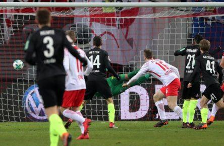 Vincent Koziello trifft für Köln in Leipzig