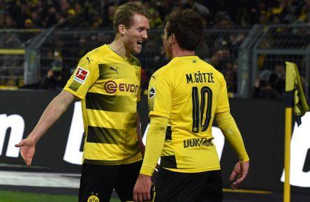 Andre Schürrle und Mario Götze so wie einst 2014.