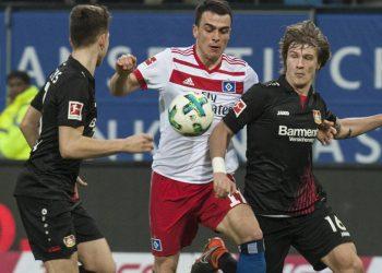 Tin Jedvaj von Bayer 04 Leverkusen