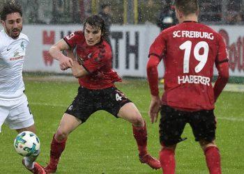 Hart umkämpfte Punkte - in der Bundesliga und bei Comunio: Belfodil gegen Söyüncü