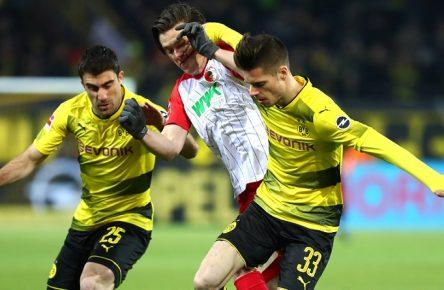 Aktuellin der Bundesliga und bei Comunio weniger gefragt: Sokratis und Weigl vom BVB
