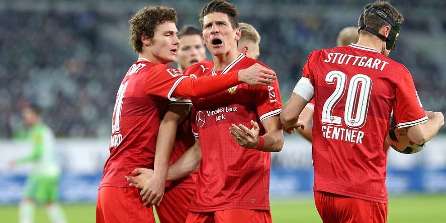 Eröffnen den 27. Spieltag beim SC Freiburg: Gomez und der VfB Stuttgart