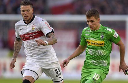 Keine Tore, keine Punkte: Ginczek und Hazard aus Stuttgart und Mönchengladbach