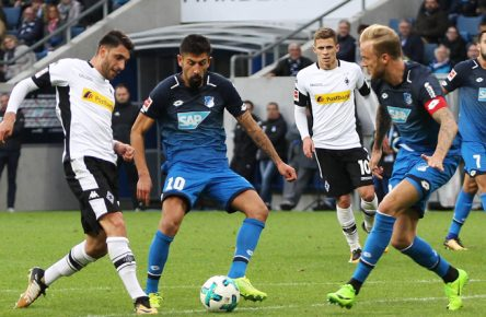 Am Samstag kämpfen die Borussia und die TSG um Europa.