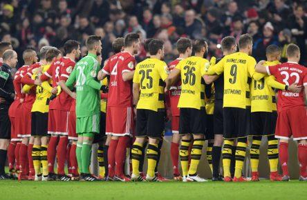 Der FC Bayern trifft am Samstag auf den BVB.