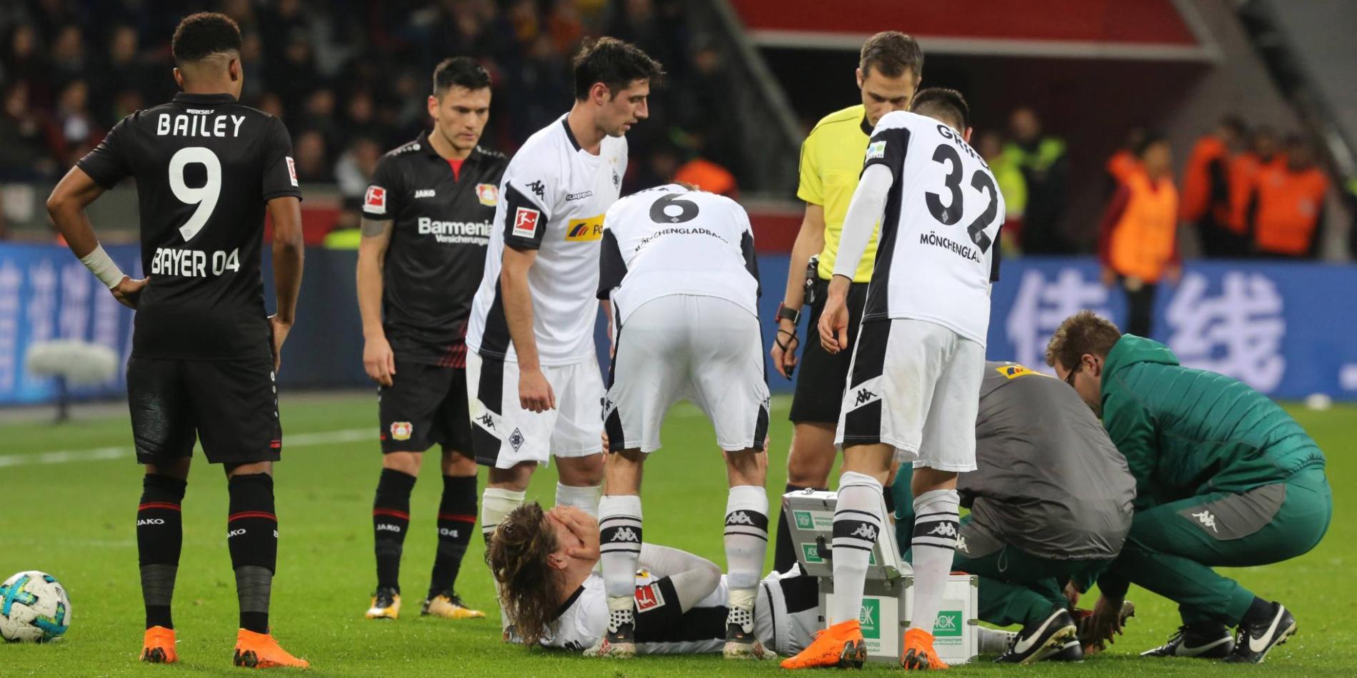 Borussia Mönchengladbachs Jannik Vestergaard fällt verletzt aus