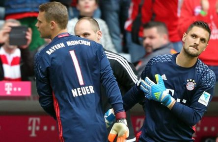 Manuel Neuer, Sven Ulreich