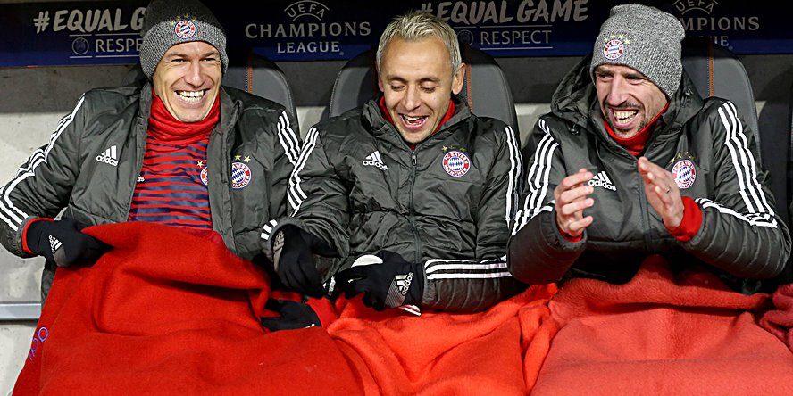 Arjen Robben, Franck Ribery, Rafinha