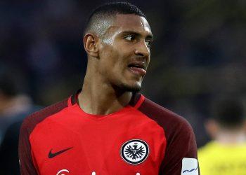 Sebastien Haller von Eintracht Frankfurt