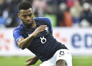 Thomas Lemar von der französischen Nationalmannschaft