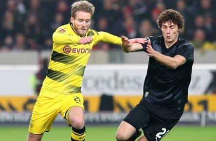 Waren schon mal besser: Schürrle und Pavard aus Dortmund und Stuttgart