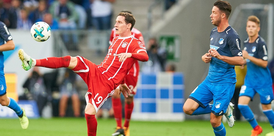 Im Endspurt der Bundesliga und bei Comunio gefragt: Rudy und Uth aus München und Hoffenheim