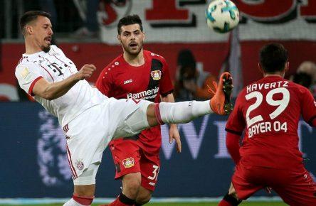 Blick auf die WM: Wagner, Volland und Havertz von Bayern und Leverkusen