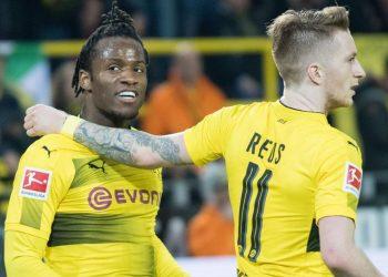 Dortmund-Duo Michy Batshuayi und Marco Reus